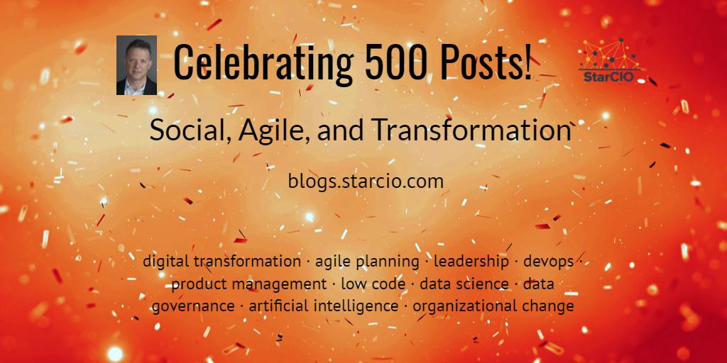 500 Posts by Isaac Sacolick