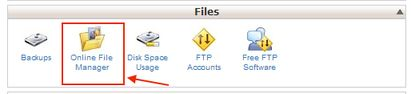cpanel-online-file-manager