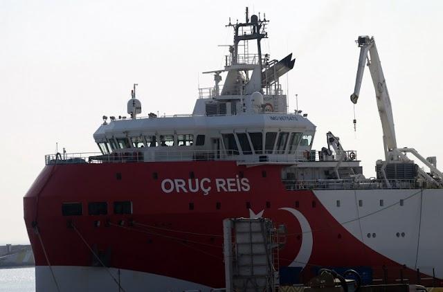 Το «κουτοπόνηρο» σχέδιο του Oruc Reis επιχειρώντας να φτάσει στα 4 ν.μ. στο Καστελόριζο
