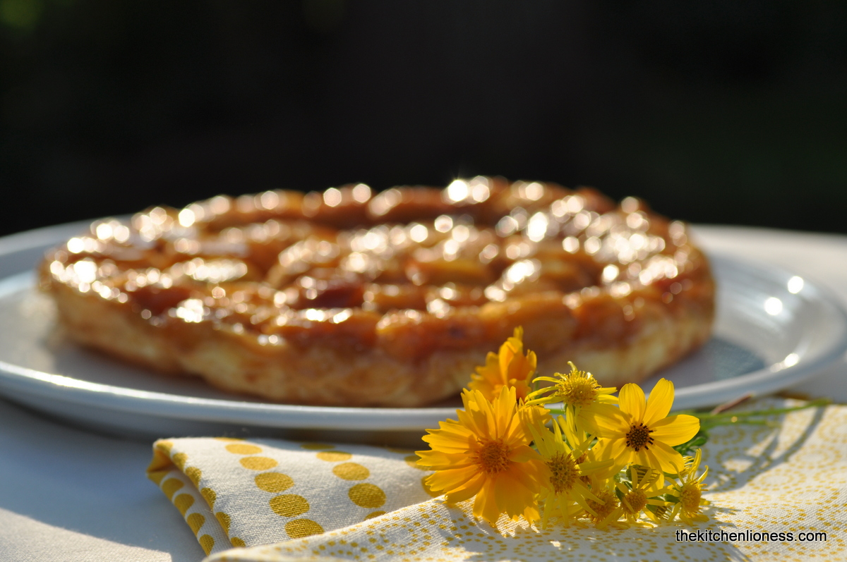 Ovenproof Frying Pan The Kitchen Lioness Apricot Tarte Tatin Sunshine On A Plate