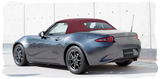 Mazda Roadster ND5RC Red Top
