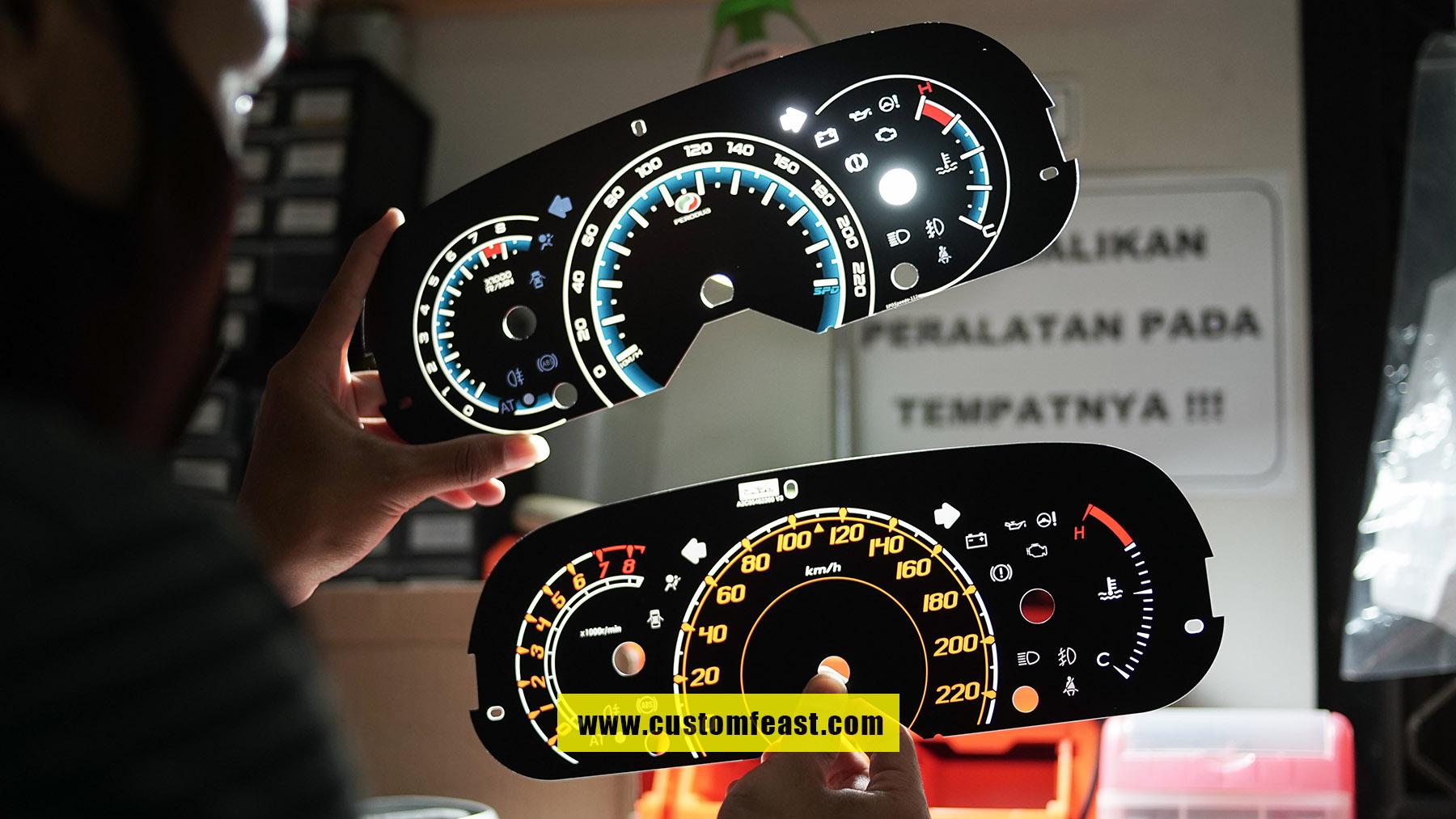 Speedometer Custom Daihatsu Sirion
