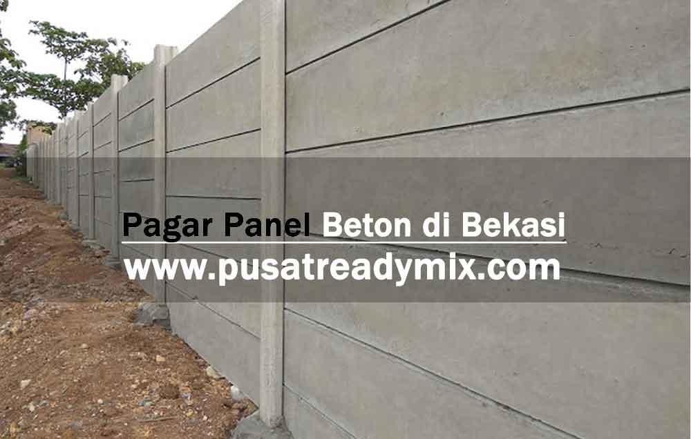 harga pagar panel beton Pondok Gede Bekasi