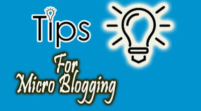 tips for micro blogging, how to grow your blog with micro blogging, how to promote affiliate product with micro blogging,