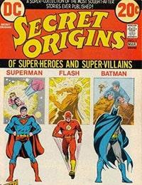 Read Secret Origins (1973) comic online