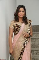 Shilpa Chakravarthy in Lovely Designer Pink Saree with Cat Print Pallu 002.JPG