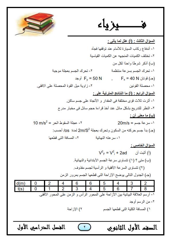 مراجعة 555 فيزياء للصف الاول الثانوى _%2B__%2B2018_002