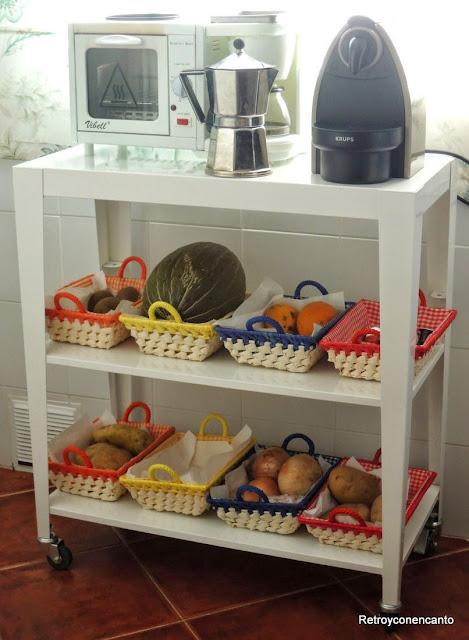 Mueble auxiliar cocina for Muebles auxiliares para cocina