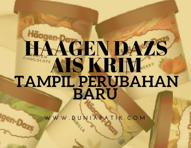 AIS KRIM HAAGEN DAZS BERWAJAH BARU