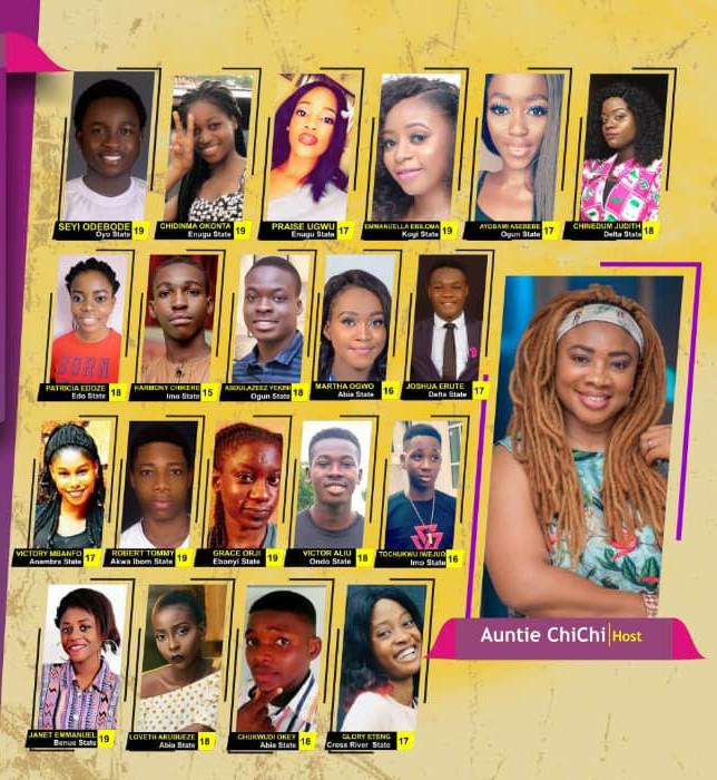 #Teenex19: Know Your Housemates
