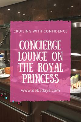 Concierge Lounge for suite passengers on Princess Cruises