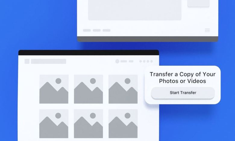 Facebook allows photos and videos to be transferred to Dropbox and Koofr