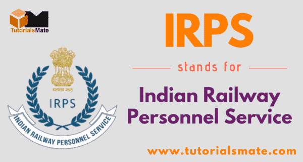 IRPS Full Form