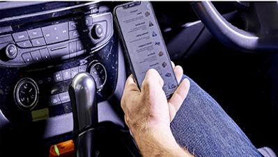 ربط كابل مع الهاتف الذكي للتشخيص والصيانة بلوتوث OBD