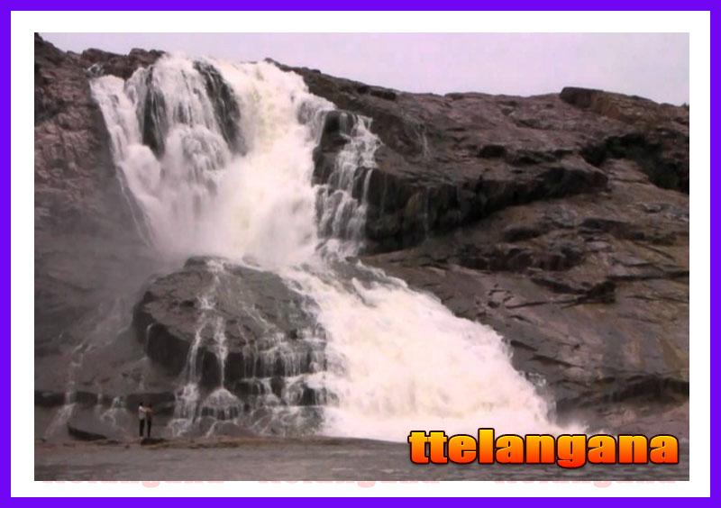 Waterfalls Kuntala in Telangana