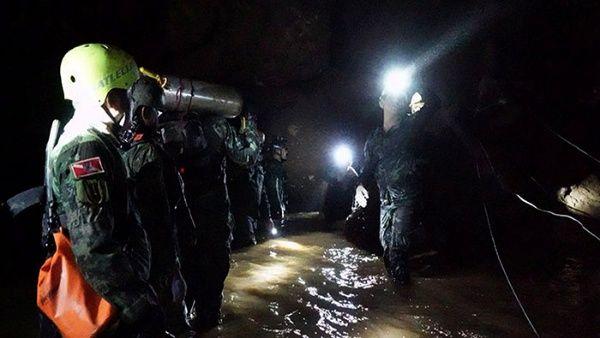 Fallece buzo en tareas de rescate de niños en cueva de Tailandia