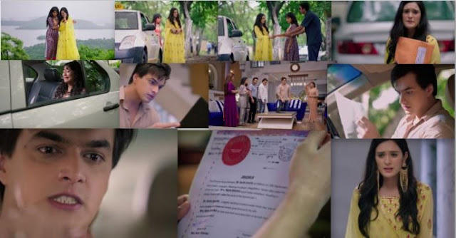 "Yeh Rishta Kya Kehlata Hai Episode 30th September 2019 Written Update "" Naira Sends Divorce Papers to Kartik """