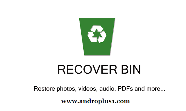 recover bin free: trash for android, recover files apk