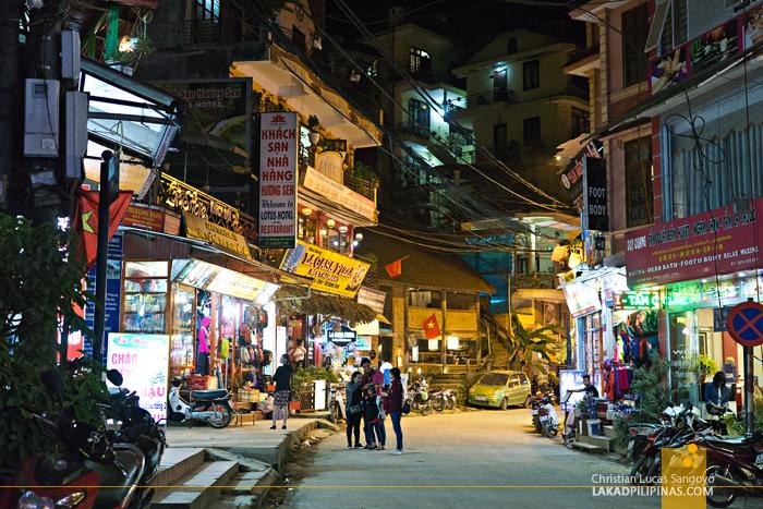 Cau Mai Road Sapa Vietnam