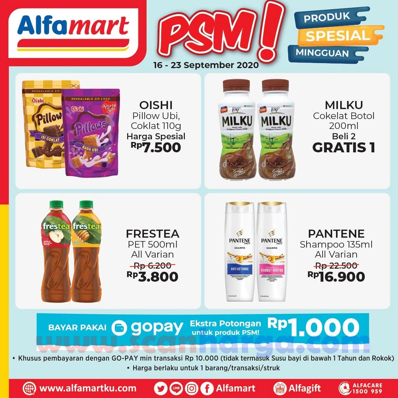 Katalog Promo PSM Alfamart 16 - 23 September 2020