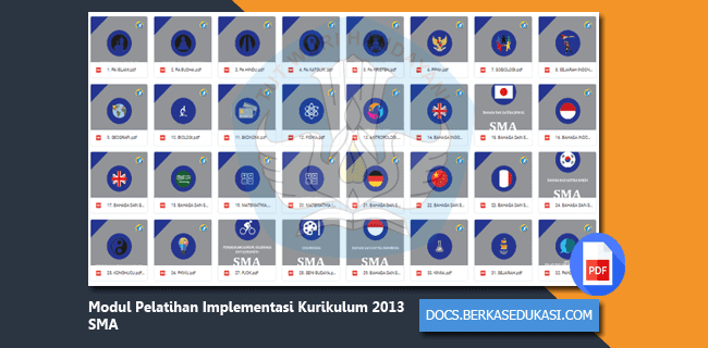 Download Modul Pelatihan Implementasi Kurikulum 2013 SMA