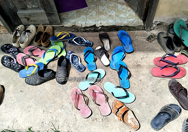Slippers at Longhouse
