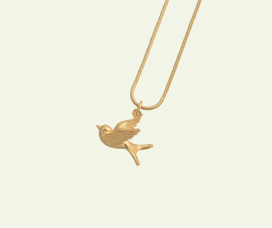 Christmas Gift Ideas For Your Mother-in-Law | A unique Swallow necklace could be the perfect way to say Merry Christmas.