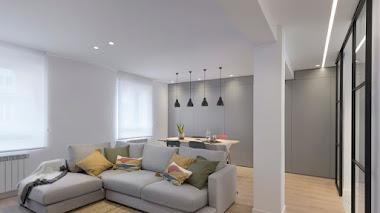 De piso antiguo muy compartimentado a hogar de diseño con ambientes abiertos
