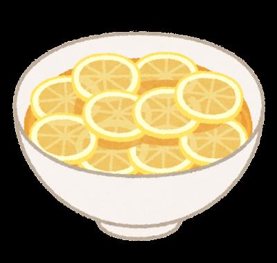 レモンラーメンのイラスト