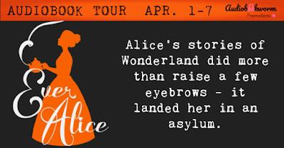 Audiobookworm banner for Ever Alice