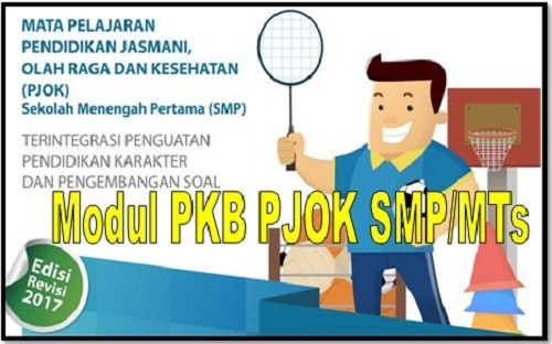 Download Modul PKB PJOK Sekolah SMP/MTs Edisi Revisi 2017