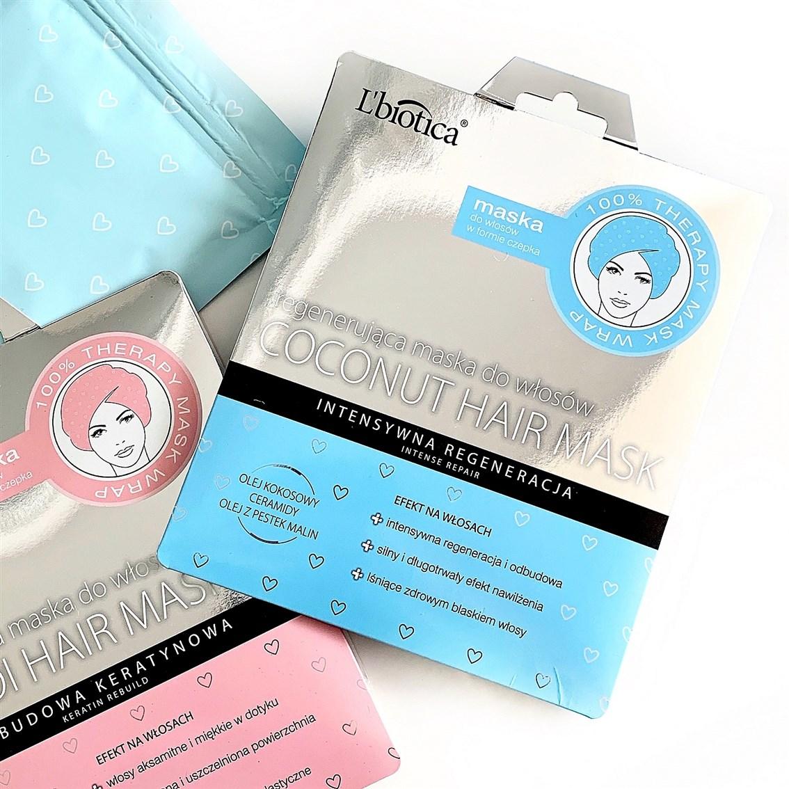 L'Biotica Coconut Hair Mask Regenerująca maska do włosów