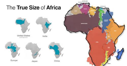 Afrika je ogromna