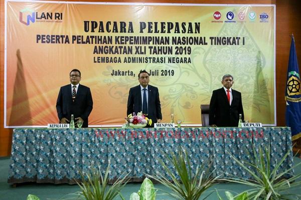 Pelatihan Kepemimpinan untuk Wujudkan Pemerintahan Modern Berlandaskan Reformasi Birokrasi