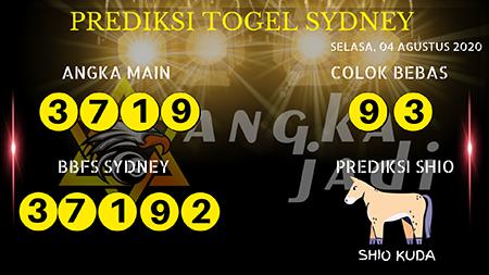 Prediksi Angka Jitu Sydney Selasa 04 Agustus 2020
