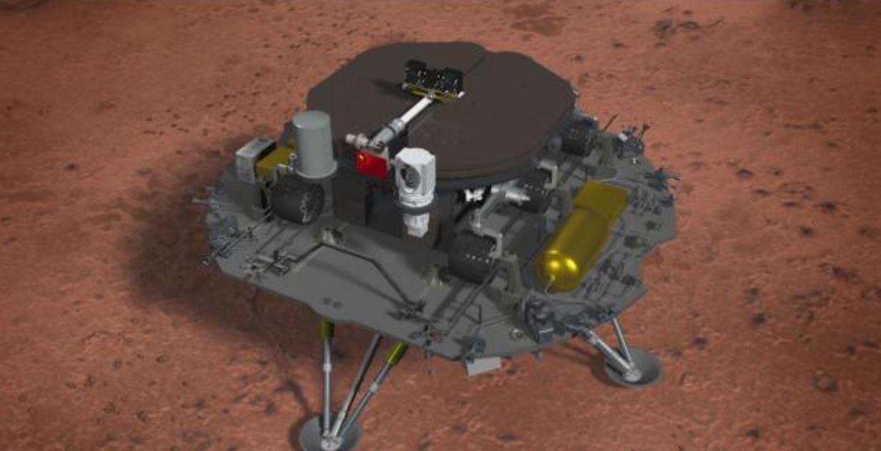"""""""المريخ"""" يشهد هبوط مركبة فضاء صينية"""