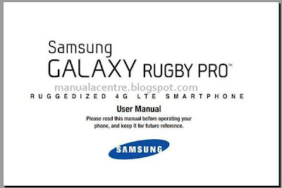 Samsung Galaxy Rugby Pro Manual