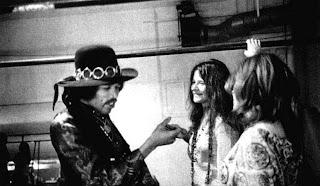 Janis y Jimi, dos mitos dándose la mano