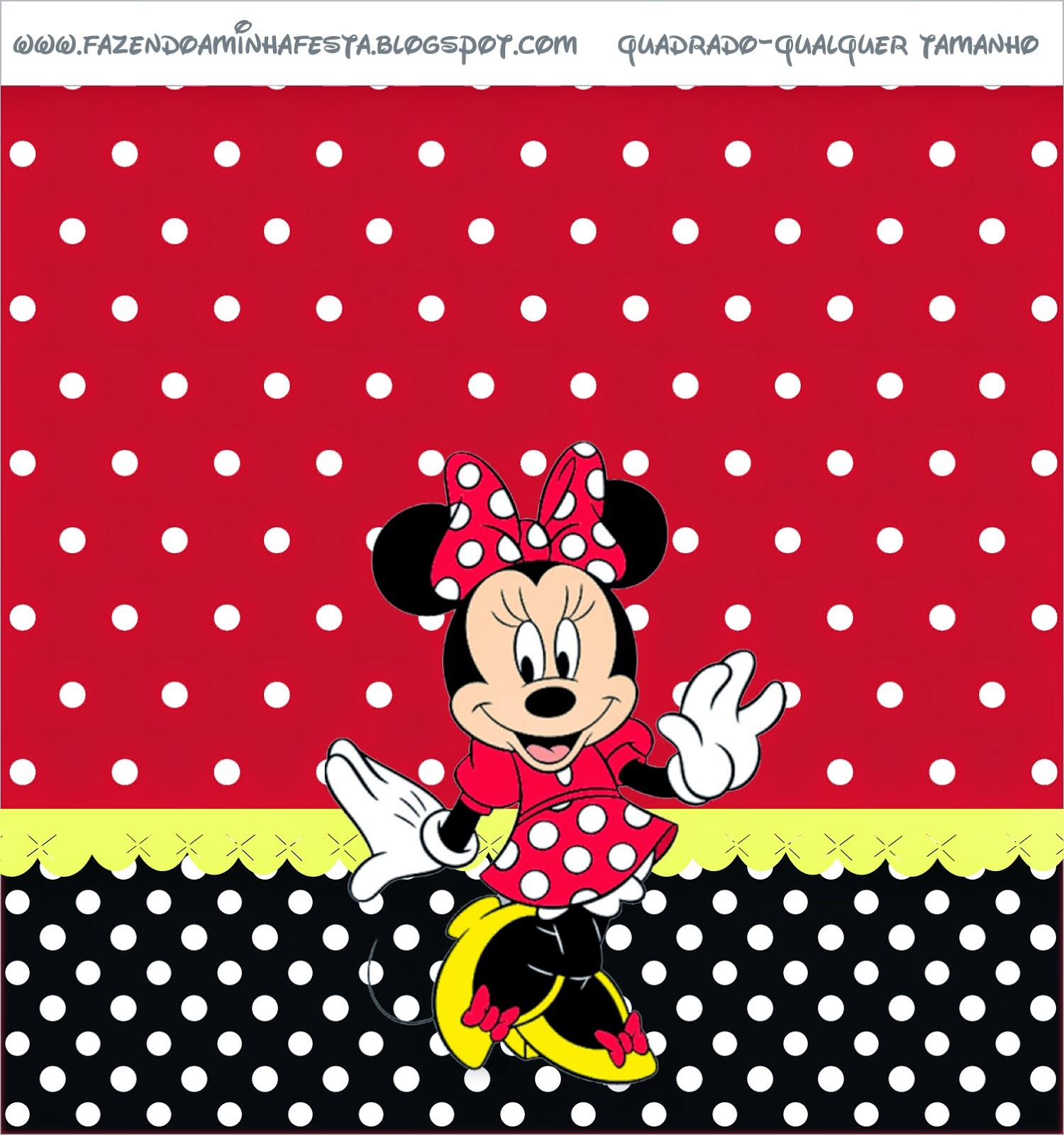 Minnie Red Free Printable Candy Bar Labels