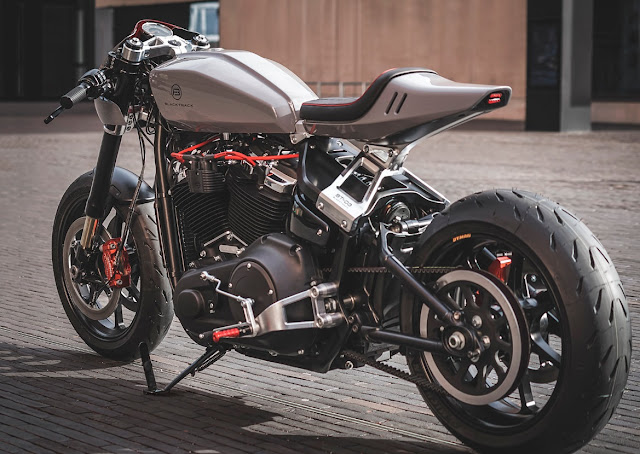 Harley Davidson By Blacktrack Hell Kustom