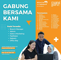 Bursa Kerja Terbaru di Ruang Guru Surabaya Maret 2020