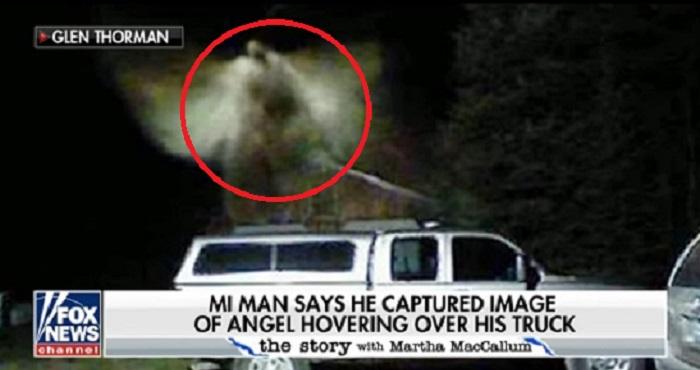 Ο αρχηγός της Πυροσβεστικής στο Μίτσιγκαν λέει ότι κάμερα ασφαλείας κατάγραψε έναν άγγελο (vid)