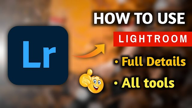 How To Use Adobe Lightroom cc Mobile
