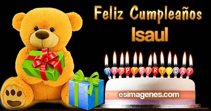 Feliz Cumpleaños Isaul