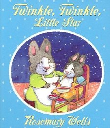 Board Book Review:  Twinkle, Twinkle Little Star by Rosemary Wells