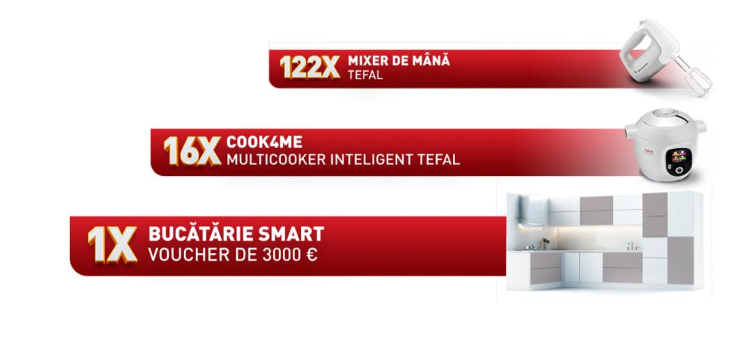 Concurs Tefal - Castiga o bucatarie in valoare de 3.000 de euro - promotie - 2021 - castiga.net
