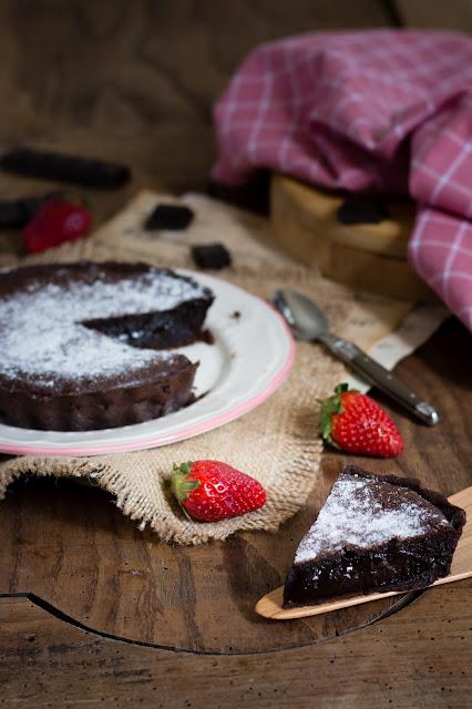 Tarte fondante au chocolat; Comment utiliser des restes de pâtes?