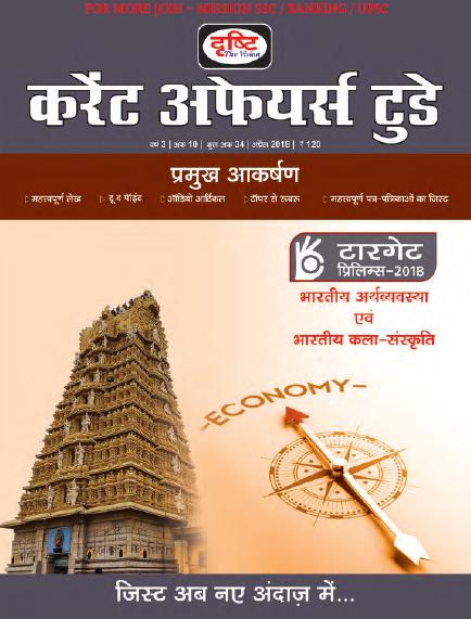 Download Drishti Current Affairs Today April 2018 Magazine (Hindi