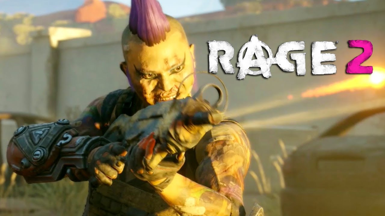 Novo trailer de RAGE 2 avisa que TUDO está contra você