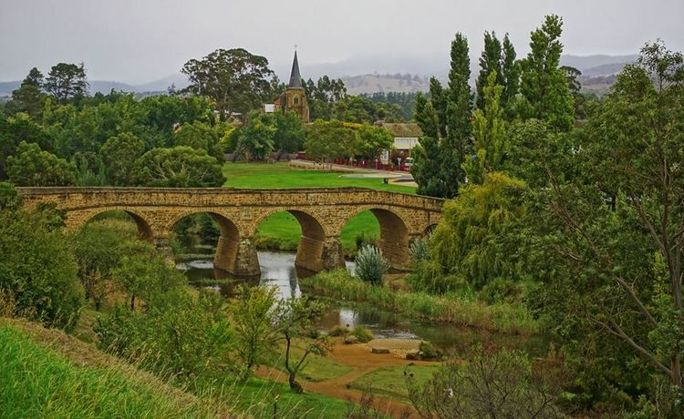Richmond Bridge. Tasmania. Australia